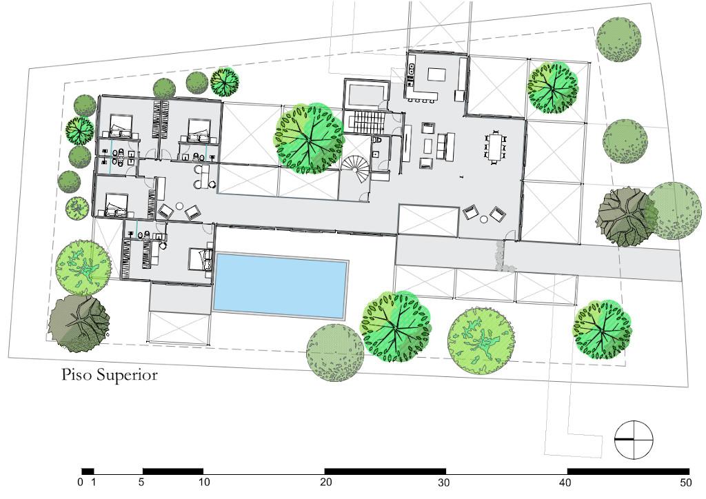 sibipiruna piso superior